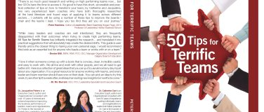 50 TIPS To Make Your Team Terrific – team leadership skills